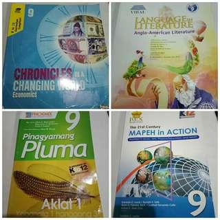 Grade 9 Books