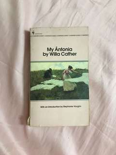 My Ántonia by Willa Cather