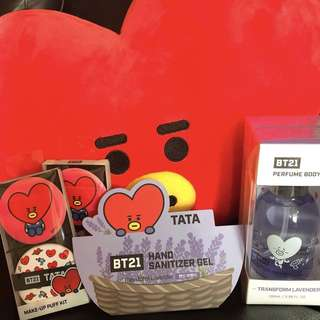 BTS BT21 NEW COLLAB PRODUCTS