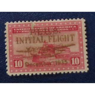 "US- Phil. Islands 1935 overprint ""INITIAL FLIGHT"""
