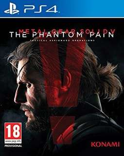 PS4 Metal Gear Solid V R3 Asia