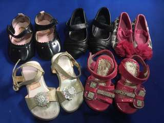 shoes  take all sizes 22-24
