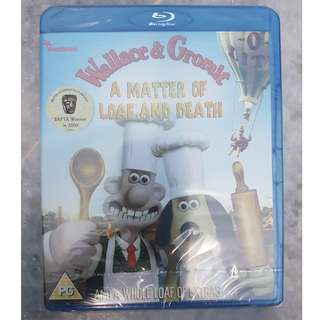 Wallace & Gromit – A Matter of Loaf and Death [Blu-ray] [Region Free]