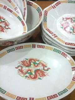 """20 Set Pinggan Cina """"Double Dragon""""1"""