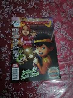 Majalah Komik Boboiboy edisi 73
