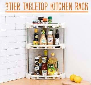3Tier TableTop Kitchen Rack