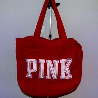 VS Pink Bag - burgundy