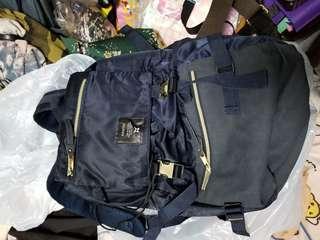 日本 Anello 寶藍色背囊