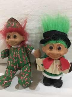 Christmas Trolls: Vintage Trolls