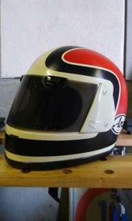 Vintage Arai Mike Baldwin Helmet