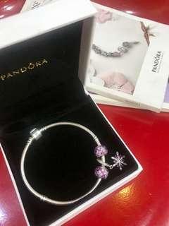 Pandora bracelet set authentic
