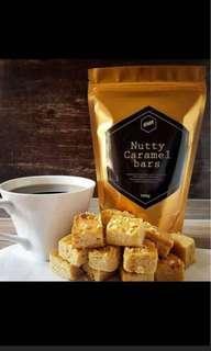 SMR Nutty Caramel Bars