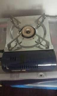 Portable butine stove from Japan may box p kya lng na Luma na Yung box sa bodega.. sayang lng nakatambak kya benta n lang