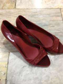 Melissa Red Pumps Size 10