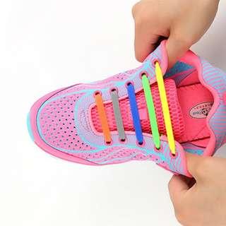 No Tie Silicone Shoelace Unisex