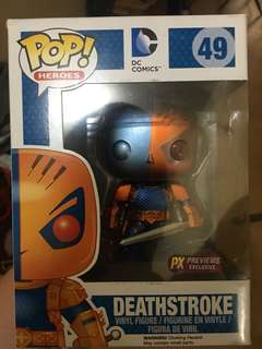 deathstroke funko pop