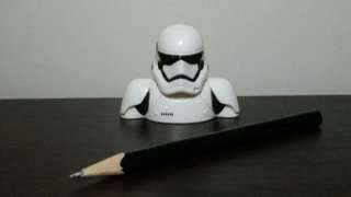 Star Wars Storm Trooper Pencil Topper from Nestle Cereals
