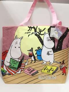 🚚 Moomin嚕嚕米大購物袋/手提袋/收納袋