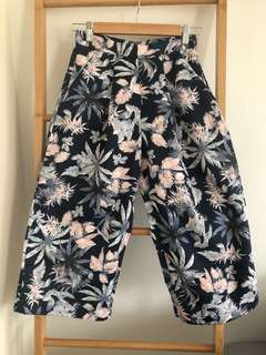 Floral printed Culottes