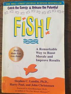 Fish : A Remarkable Way to Boost Morale & Improve Results (Stephen Lundin/Harry Paul/John Christensen)