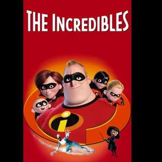 [Rent-A-Movie] THE INCREDIBLES (2004) [MCC004]
