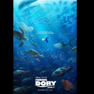 [Rent-A-Movie] FINDING DORY (2016) [MCC004]