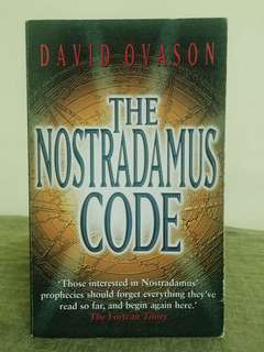 The Nostradamus Code: For The First Time The Secrets Of Nostradamus Revealed In The Age Of Computer ScienceAuthor:David Ovason