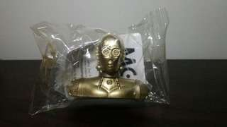 Star Wars C3PO Pencil Topper (Sealed) from Nestle Cereals
