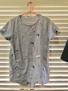 H&M Grey Tshirt