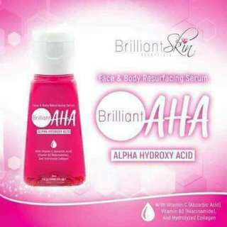 AHA Serum Brillian Skin Essentials