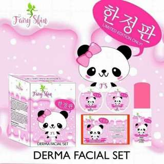 FAIRY SKIN DERMA FACIAL SET -FREE SHIPPING