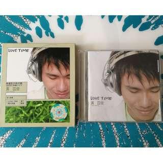CD VCD Juis Wong Huang Guo Jun - Love Time 黄国俊 恋爱时刻 Singapore Press