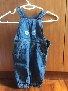 Blue Zoo Denim Overalls