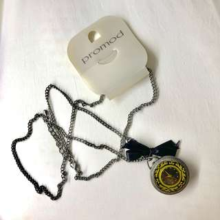 FREE with 2 items bought || Necklace with Watch Pendant