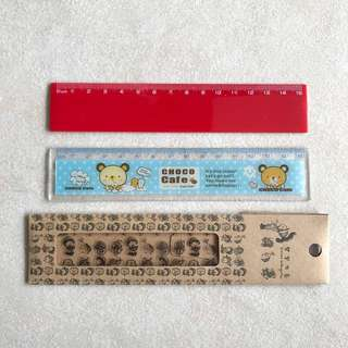 [BN] Plastic Rulers (15cm)