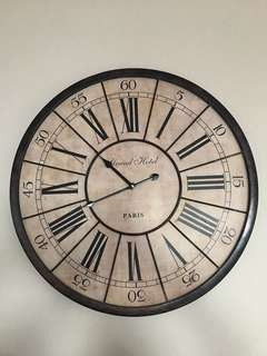 French vintage clock