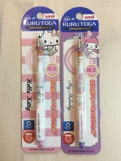 Hello Kitty/ My Melody 鉛芯筆