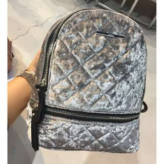 SALE! Aldo Gray Edroiana Quilted Backpack