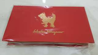 Limited edition Salvatore Ferragamo red package