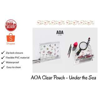 AOA Clear Pouch - Under the Sea