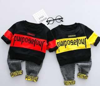 Boy clothing set