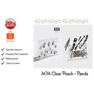 AOA Clear Pouch - Panda