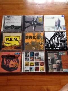 R.E.M. CDs
