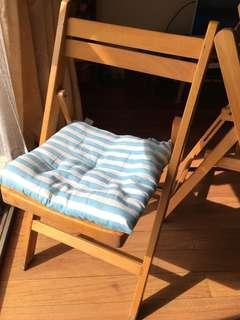 實木折疊椅