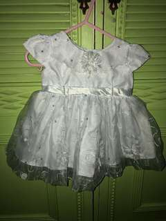 White Christening Dress