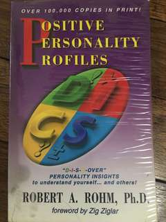 Positive Personality Profiles : DISC (Robert Rohm PhD)