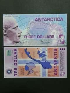 Antarctica 3 Dollars 🇦🇶 !!!
