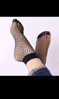 [RESTOCKED] Fishnet Stockings READY STOCK Mesh socks