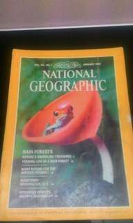 National Geographic January 1983