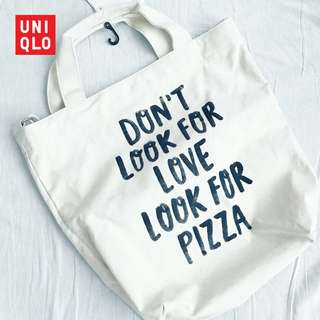 UNIQLO SPRZNY SHOPPER BAG ( brand new )